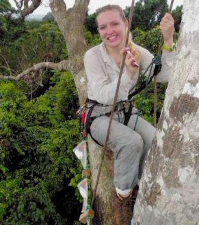 Jane Lucas in Panama Rainforest