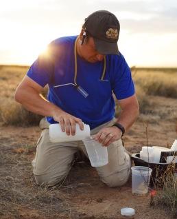 Karl Roeder in the Great Basin Desert